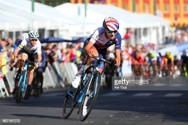 90th Road World Championships 2017 / Men Junior Road Race Thomas PIDCOCK / Bergen Bergen / RR / Bergen / RWC /