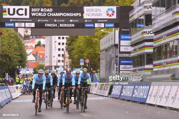 90th Road World Championships 2017 / Training Road Race Jasper STUYVEN / Tim WELLENS / Dylan TEUNS / Oliver NAESEN / Jens KEUKELEIRE / Julien VERMOTE...
