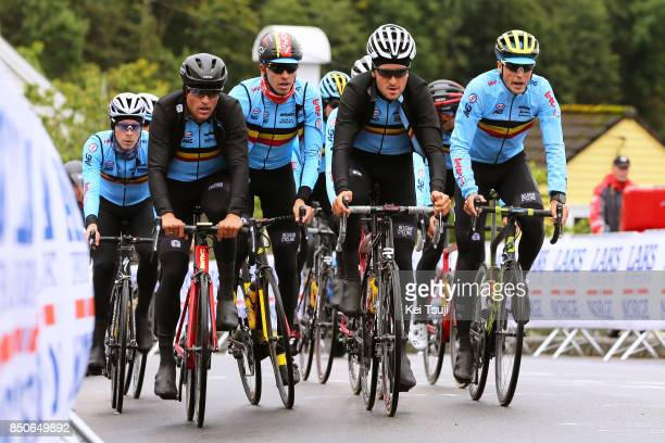 90th Road World Championships 2017 / Training Road Race Julien VERMOTE / Greg VAN AVERMAET / Oliver NAESEN / Jasper STUYVEN / Tiesj BENOOT / Team...