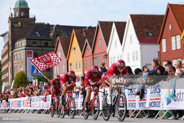 90th Road World Championships 2017 / TTT Men Elite Team KatushaAlpecin / Reto HOLLENSTEIN / Alexander KRISTOFF / Tiago MACHADO / Tony MARTIN /...