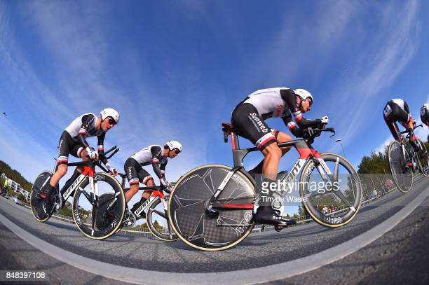 90th Road World Championships 2017 / TTT Men Elite Team Sunweb / Tom DUMOULIN / Lennard KAMNA / Wilco KELDERMAN / Soren Kragh ANDERSEN / Michael...