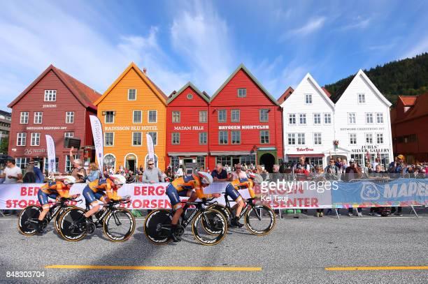 90th Road World Championships 2017 / TTT Women Elite Chantal BLAAK / KarolAnn CANUEL / Elizabeth DEIGNAN / Amalie DIDERIKSEN / Megan GUARNIER /...
