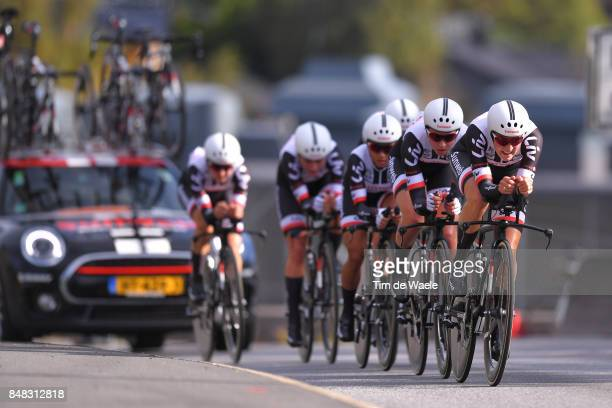 90th Road World Championships 2017 / TTT Women Elite Team Sunweb Women / Lucinda BRAND / Leah KIRCHMANN / Floortje MACKAIJ / Coryn RIVERA / Sabrina...