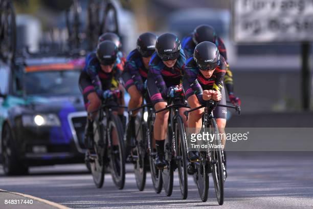 90th Road World Championships 2017 / TTT Women Elite Team Canyon SRAM Racing / Hannah BARNES / Lisa BRENNAUER / Elena CECCHINI / Mieke KROGER /...