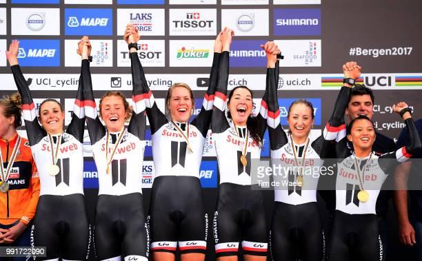 90Th Road World Championships 2017 Ttt Women Eliteteam Sunweb / Lucinda Brand / Leah Kirchmann / Juliette Labous / Liane Lippert / Floortje Mackaij /...