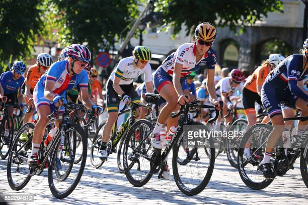 90th Road World Championships 2017 / Women Elite Road Race Lizzie Elizabeth ARMITSTEADDEIGNAN / Bergen Bergen / RR / Bergen / RWC /