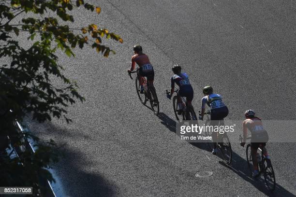 90th Road World Championships 2017 / Women Elite Road Race Lucinda BRAND / Gracie ELVIN / Hannah BARNES / Amy PIETERS / Bergen Bergen / RR / Bergen /...