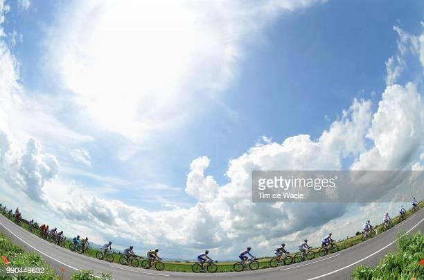 Giro D'Italia, Stage 12Illustration Illustratie, Peleton Peloton, Sky Ciel Lucht Wolken Clouds Nuages, Landscape Paysage Landschap /Forli - Carpi...