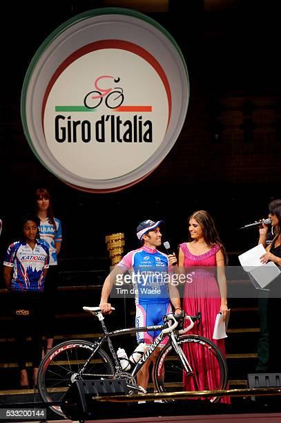 93th Giro d'Italia 2010 / Presentation Team Lampre / Gilberto SIMONI / Yolanthe CABAU van KASBERGEN / Tour of Italy / Ronde van Italie / Presentatie...