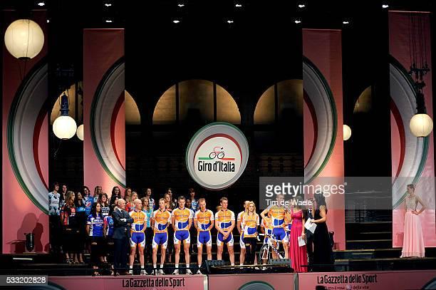 93th Giro d'Italia 2010 / Presentation Team Rabobank / Bauke MOLLEMA / Yolanthe CABAU van KASBERGEN / Tour of Italy / Ronde van Italie / Presentatie...
