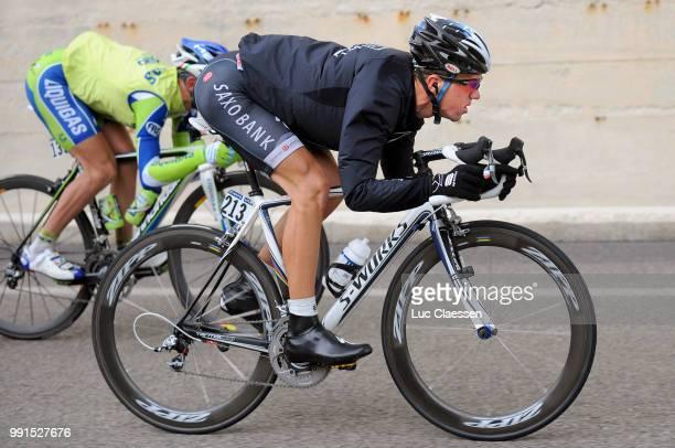 93Th Giro D'Italia 2010 Stage 11 Chris Anker Sorensen /Lucera L'Aquila /Tour Of Italy Ronde Van Italie Rit Etape Tim De Waele