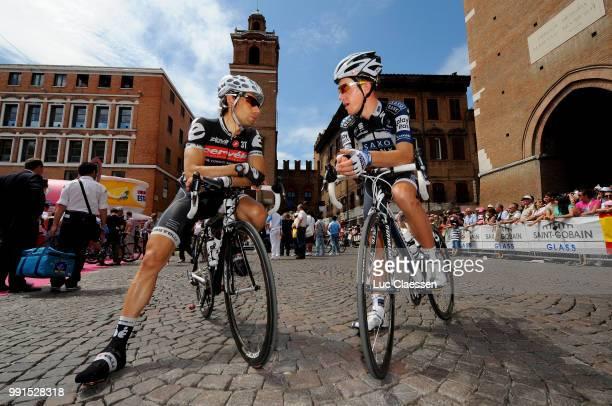 93Th Giro D'Italia 2010 Stage 14Chris Anker Sorensen Inigo Cuesta / Ferrara Asolo /Tour Of Italy Ronde Van Italie Rit Etape Tim De Waele
