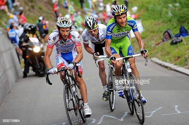 93th Giro d'Italia 2010 / Stage 15 Michele SCARPONI / Ivan BASSO / Cadel EVANS / Mestre Monte Zoncolan / Tour of Italy / Ronde van Italie / Rit Etape...