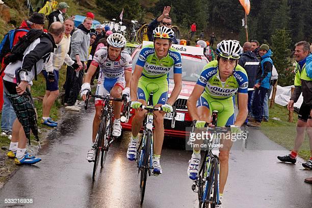 93th Giro d'Italia 2010 / Stage 19 Ivan Basso / Vincenzo Nibali / Michele Scarponi / Passo Del Mortirolo / Brescia - Aprica / Tour of Italy / Ronde...