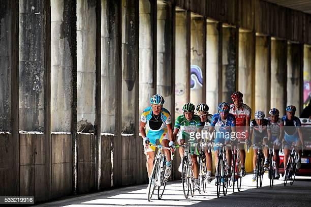 93th Giro d'Italia 2010 / Stage 20 Illustration Illustratie / Peleton Peloton / Daniel LLYOD Green Jersey / Carlos SASTRE / David Moncoutie /...