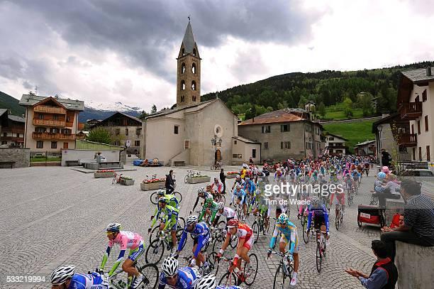93th Giro d'Italia 2010 / Stage 20 Illustration Illustratie / BORMIO City Ville Stad / Peleton Peloton / Landscape Paysage Landschap / Bormio Ponte...