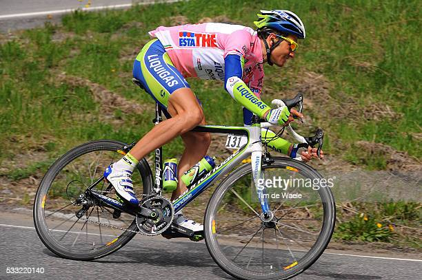 93th Giro d'Italia 2010 / Stage 20 Ivan Basso Pink Jersey / Bormio Ponte Di Legno Tonale / Tour of Italy / Ronde van Italie / Rit Etape / Tim De Waele