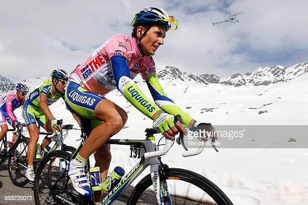 93th Giro d'Italia 2010 / Stage 20 Ivan Basso Pink Jersey / Passo GAVIA / Bormio Ponte Di Legno Tonale / Tour of Italy / Ronde van Italie / Rit Etape...