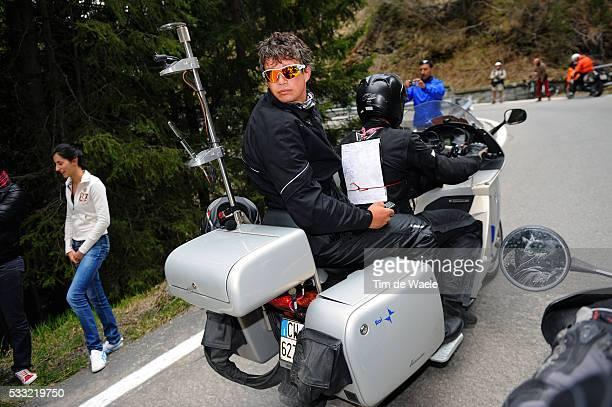 93th Giro d'Italia 2010 / Stage 20 Paolo SAVOLDELLI / RAI TV / Bormio Ponte Di Legno Tonale / Tour of Italy / Ronde van Italie / Rit Etape / Tim De...