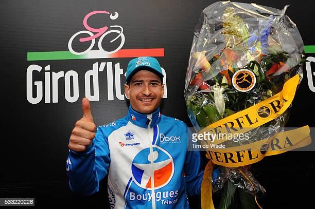 93th Giro d'Italia 2010 / Stage 20 Podium / Johann Tschopp Celebration Joie Vreugde / Bormio Ponte Di Legno Tonale / Tour of Italy / Ronde van Italie...