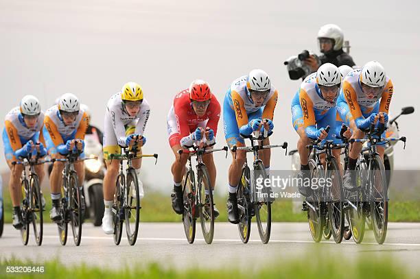 93th Giro d'Italia 2010 / Stage 4 Team Garmin Transitions / David Millar / Tyler Farrar / Maciej Bodnar / Tiziano Dall'antonia / Robert Kiserlovski /...