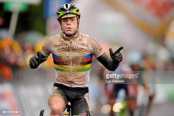93Th Giro D'Italia 2010, Stage 7 Arrival, Cadel Evans Celebration Joie Vreugde /Marina Di Carrara - Montalcino /Tour Of Italy, Ronde Van Italie, Rit...