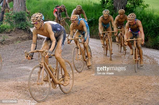 93th Giro d'Italia 2010 / Stage 7 Illustration Illustratie / Dario Cioni / Marina di Carrara - Montalcino / Tour of Italy / Ronde van Italie / Rit...