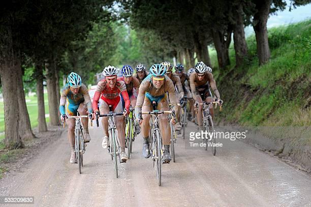 93th Giro d'Italia 2010 / Stage 7 Josep Jufre Pou / Stefano Garzelli / Alexandre Vinokourov / Marina di Carrara - Montalcino / Tour of Italy / Ronde...