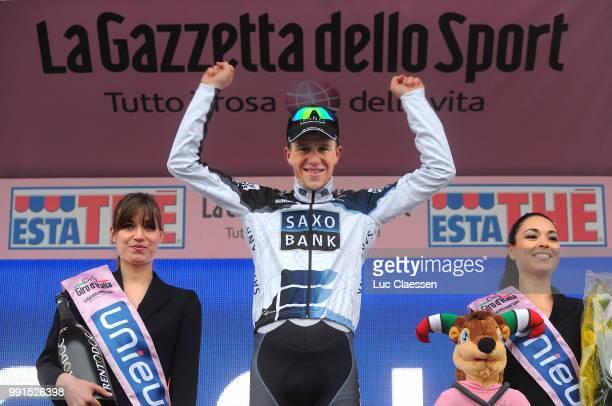 93Th Giro D'Italia 2010 Stage 8 Podium Chris Anker Sorensen Celebration Joie Vreugde /Chianciano Terme Terminillo /Tour Of Italy Ronde Van Italie Rit...