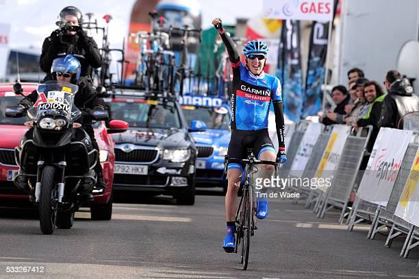 93th Vuelta Catalunya 2013/ Stage 4 Arrival/ Daniel MARTIN Celebration Joie Vreugde/ Llanars-Vall de Camprodon - Port Aine-Rialp Tour of Catalunya/...