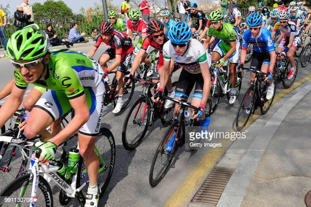 93Th Vuelta Catalunya 2013/ Stage 7Daniel Martin White Leader Jersey/El Vendrell - Barcelona Tour Of Catalunya/ Ronde Etape Rit/ Tim De Waele