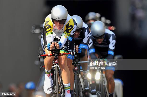 94th Giro Italia 2011/ Stage 1 TEAM GARMIN - CERVELO / Cameron MEYER / Venaria Reale - Torino / Team Time Trial / Contre la Montre Equipes /...