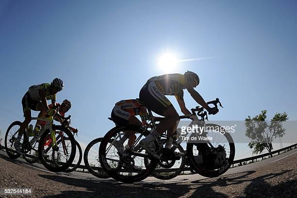 94th Giro Italia 2011/ Stage 12 Illustration Illustratie / Silhouet / GOLAS Michal / Stef CLEMENT / MINGUEZ AYALA Miguel / RICCI BITTI Davide /...