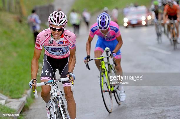 94th Giro Italia 2011/ Stage 13 CONTADOR Alberto Pink Jersey / SCARPONI Michele / Spilimbergo - Grossglockner / Tour of Italie / Tour d'Italie /...