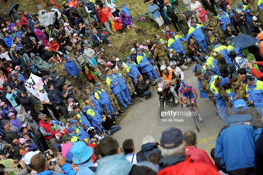 94th Giro Italia 2011/ Stage 14 Illustration Illustratie / Monte Zoncolan / Public Publiek Spectators Supporters Fans / Landscape Paysage Landschap / Lienz - Monte Zoncolan 1730m (175 Km)/ Tour of Italie / Tour d'Italie / d'Italia / Ronde van Italie / Etape Rit/(c)Tim De Waele