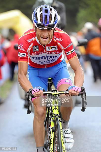 94th Giro Italia 2011/ Stage 15 SCARPONI Michele Red Jersey / Conegliano - Gardeccia Val Di Fassa 1948m / Tour of Italie / Tour d'Italie / d'Italia /...