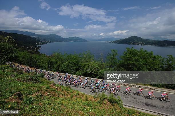 94th Giro Italia 2011/ Stage 19 Illustration Illustratie / Peleton Peloton / LAGO MAGGORE Lake Lac Meer / Landscape Paysage Landschap / Bergamo -...