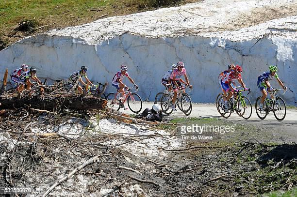 94th Giro Italia 2011/ Stage 20 NIBALI Vincenzo / SCARPONI Michele Red Jersey / CONTADOR Alberto Pink Jersey / KRUIJSWIJK Steven / Dennis MENCHOV /...
