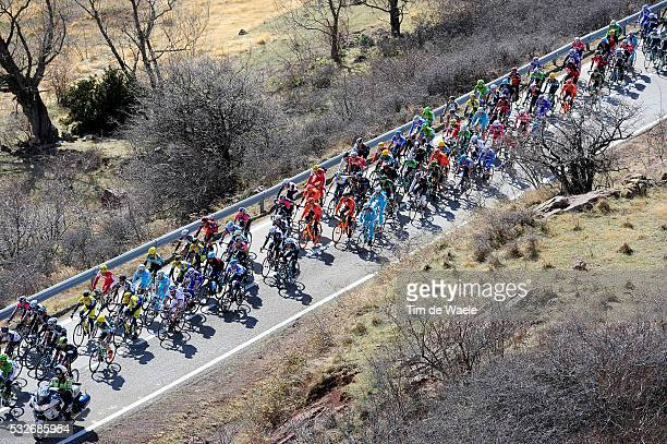 94th Volta Catalunya 2014 / Stage 3 Ilustration Ilustratie/ Peloton Peleton/ Landcape Paysage/ Banyoles - La Molina-Alp / Tour of Cataluya/ Ronde...