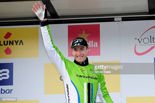 94th Volta Catalunya 2014 / Stage 3 Podium/ Michel KOCH / Celebration Joie Vreugde/ Banyoles - La Molina-Alp / Tour of Cataluya/ Ronde Etape Rit/...