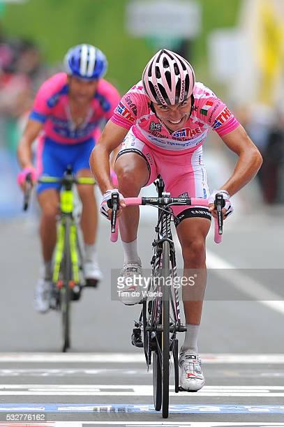 95th Tour of Italy 2012 / Stage 19 Joaquim Rodriguez Oliver Pink Jersey / Michele Scarponi / Treviso - Alpe Di Pampeago / Val Di Fiemme / Giro Italia...