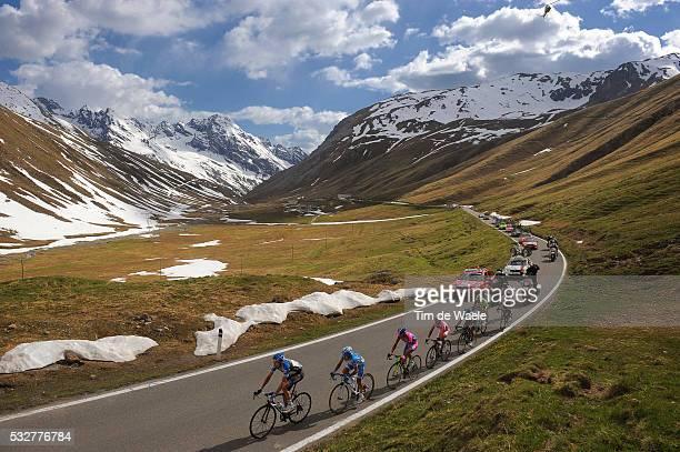 95th Tour of Italy 2012 / Stage 20 Illustration Illustratie / Stelvio / Mountains Montagnes Bergen / Landscape Paysage Landschap / Ryder Hesjedal /...