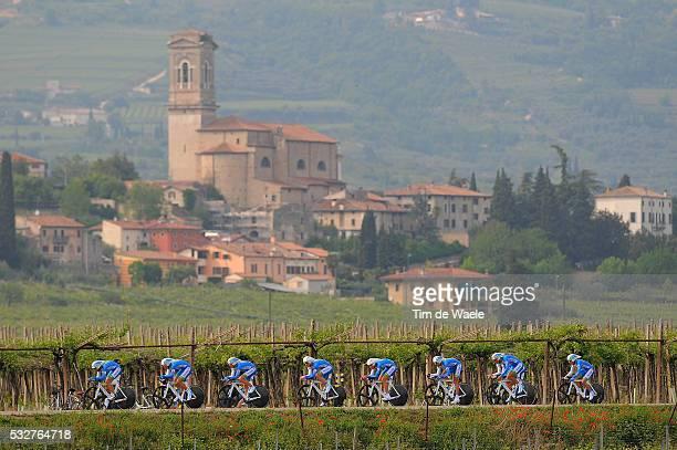 95th Tour of Italy 2012 / Stage 4 Team NetApp / Cesare Benedetti / Jan Barta / Timon Seubert / Markus Eichler / Bartosz Huzarski / Reto Hollenstein /...