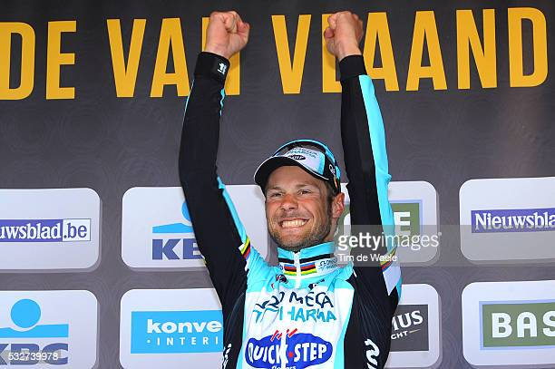 96th Tour of Flanders 2012 Podium / Tom BOONEN Celebration Joie Vreugde / Brugge - Oudenaarde / Tour de Flandres / Ronde van Vlaanderen / RVV /Tim De...