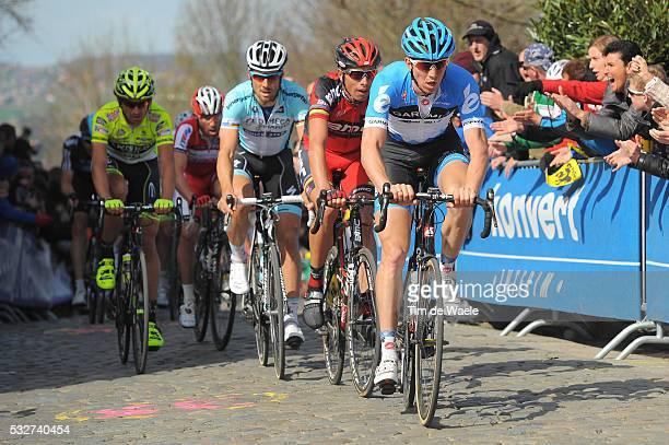 96th Tour of Flanders 2012 Sep VANMARCKE / Alessandro BALLAN / Tom BOONEN / Filippo POZZATO / Oude Kwaremont / Brugge - Oudenaarde / Tour de Flandres...