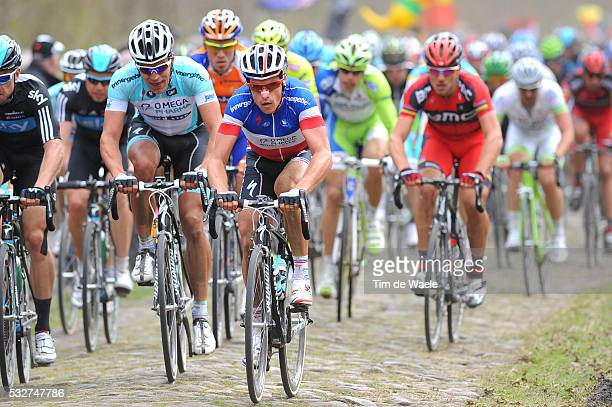 96th Tour of Flanders 2012 Sylvain CHAVANEL / ARENBERG / Brugge - Oudenaarde / Tour de Flandres / Ronde van Vlaanderen / RVV /Tim De Waele