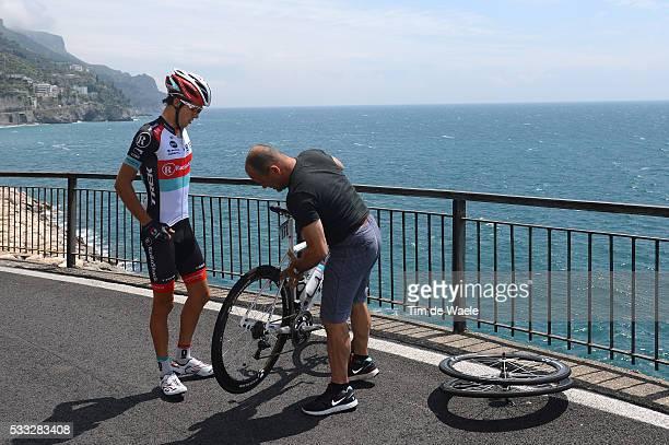 96th Tour of Italy 2013 / Stage 3 BENNETT George / Crash Chute Val / Sorrento - Marina Di Ascea / Giro Tour Italie Ronde van Italie / Rit Etape /Tim...