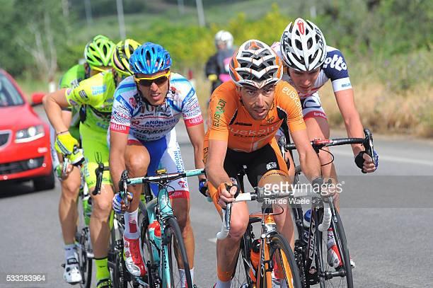 96th Tour of Italy 2013 / Stage 5 MESTRE Ricardo / GIL MARTINEZ Tomas Aurelio / ANDRIATO Rafael / BULGAC Brain / MARANGONI Alan / Cosenza Matera /...