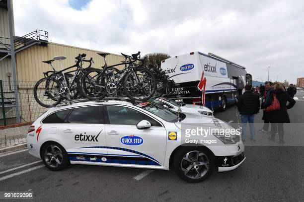 96Th Volta Catalunya 2016 Stage 6Illustration Illustratie Start Departure Vertrek Team Etixx QuickStep / Car Voiture Auto/ SWorks Bike Velo Fiets...