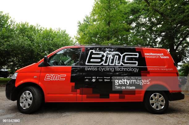 97Th Tour De France 2010 Restdayillustration Illustratie Team Bmc Racing Van Car Voiture Auto Restday In Pau Rustday Jour De Repos Ronde Van...